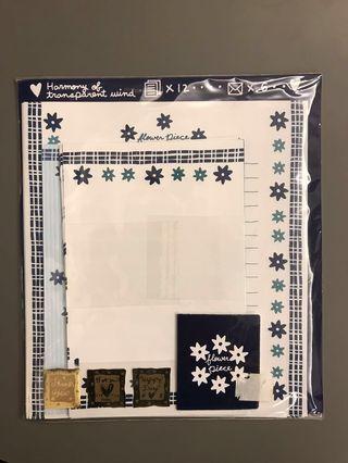 韓國製信紙套裝(包郵)