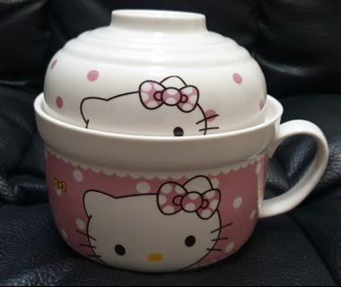 Hello Kitty Ceramic Maggie mee bowl
