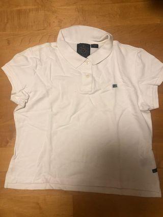 Polo Ralph Lauren White Polo Shirt白色上衣