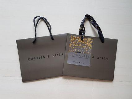 Charles & Keith Paper Bags
