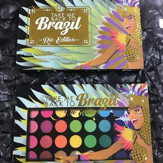 Take Me Back To Brazil: Rio Edition - BH Cosmetics