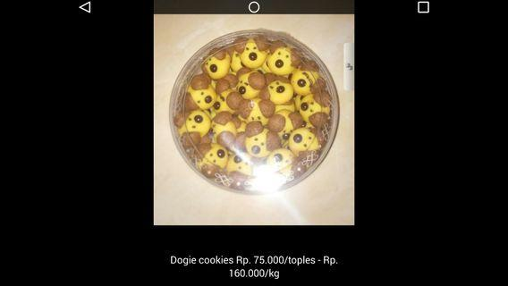Aneka Kue Kering dogie cookies #BAPAU