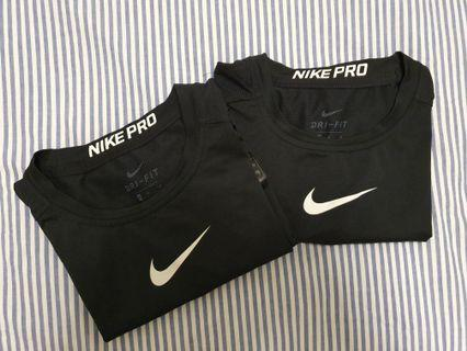 Nike Pro Combat Compression Tops Retail $84 Medium