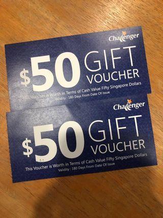 🚚 Challenger Gift Voucher