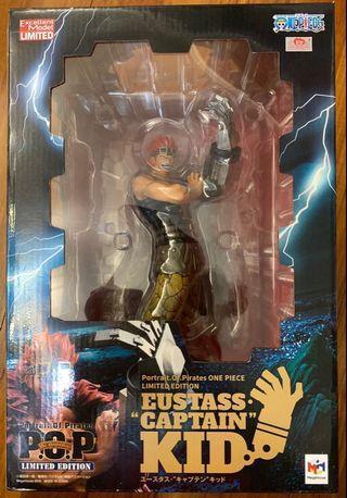 "全新行版 POP 基德 Eustass ""Captain"" Kid Limited Edition 2年後 One Piece 海賊王 Megahouse"