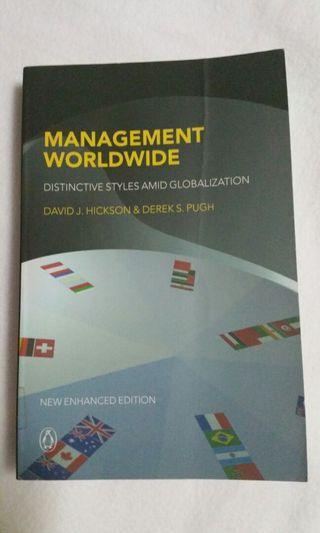 Management Worldwide: Distinctive Styles Among Globalization