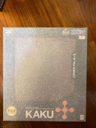 全新行版 POP 卡古 KAKU 長頸鹿 CP9 CP0 One Piece 海賊王 Megahouse Limited Edition