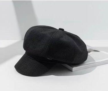 🚚 棉麻貝雷帽
