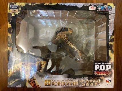全新行版 POP 羅布 路基 路奇 貓貓果實 CP9 CP0 Rob Rucchi Ver.豹 One Piece 海賊王 Megahouse MAS