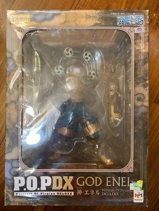 全新亞版 POP God Enel Kami 神 雷 空島 One Piece 海賊王 DX DELUXE
