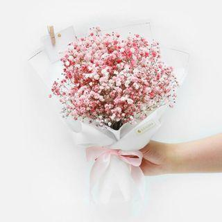 🚚 Baby Breath Bouquet M-sized