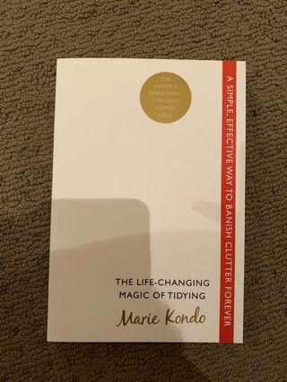 The life changing magic of tidying - Marie Kondo