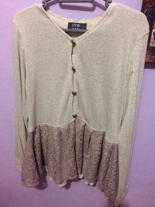 Blouse / Baju atasan How You Wear (HYW)- Simplicity
