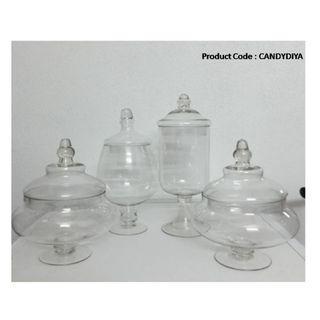 Tall Glass Jar