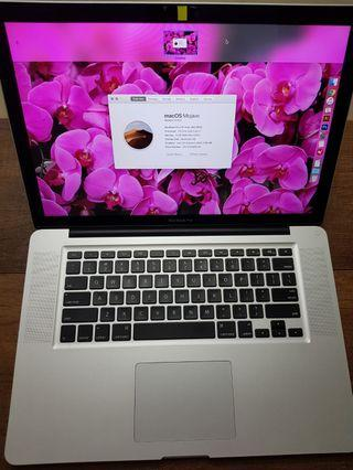 Apple MacBook Pro 15 inch (mid 2012)