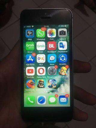 Jual cepat iphone 5s 16gb space grey
