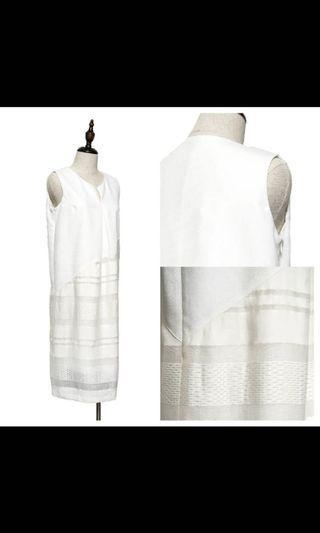 全新Rococo白色連身裙