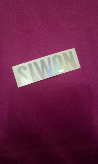 #BAPAU STICKER SIWON SUPER JUNIOR