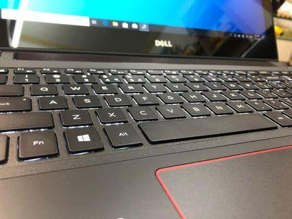 (電競,4k touch mon)高階  DELL 15.6寸 高效能手提電腦 i7 6700HQ/8gb/16gb/Geforce GTX 960M 4gb 獨立顯示卡/4k touch mon/gaming 打機