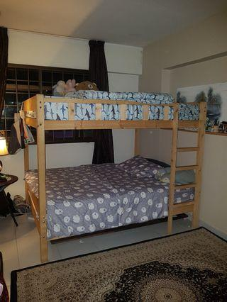 🚚 Queen size Bunk Bed