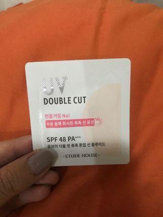 Etude House UV Double Cut Moisture Tone Up SPF 48