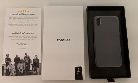 Totallee super thin cover for iPhone X