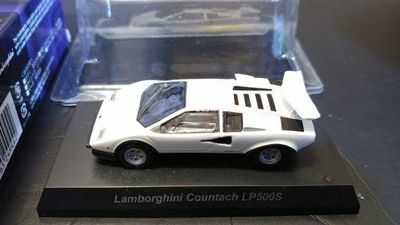 Kyosho 京商 1/64 Lamborghini 林寶堅尼 LP500S 白色