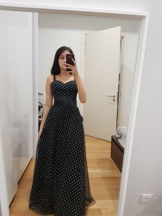 (Sale 4 for RM260) Polkadot Dress retro