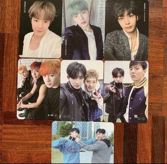 🚚 wts: official monsta x photocards