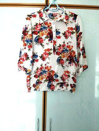 Floral Blouse top