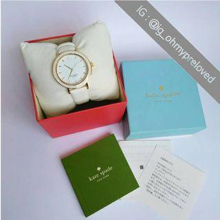 Kate Spade White Analog Watch Live Colorfully