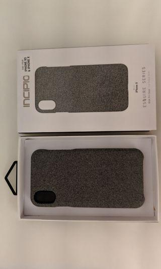 Original incipo fabric case for iPhone XS