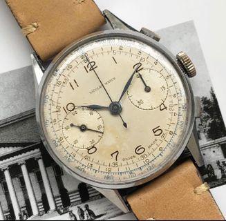 Rare Nicolet Vintage Chronograph