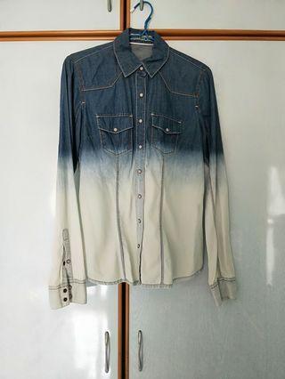 Denim Shirt top