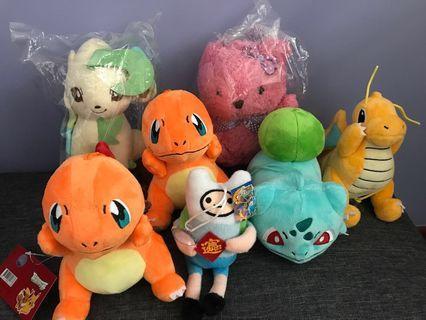 🚚 Pokemon Soft Toys