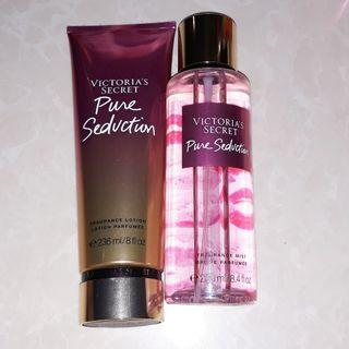 Authentic VS Pure Seduction Set of lotion and mist