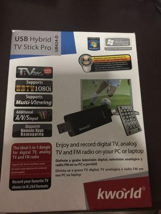 Usb hybrid tv stick pro