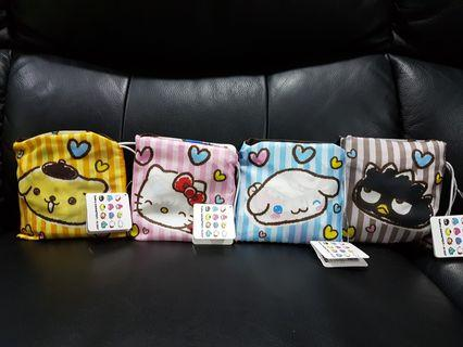 Sanrio Monimaruzu Foldable Pocket Eco Bag