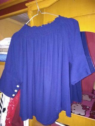 #BAPAU Baju atasan cewek biru
