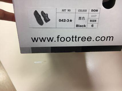 🚚  2 pairs brand new black foottree shoes
