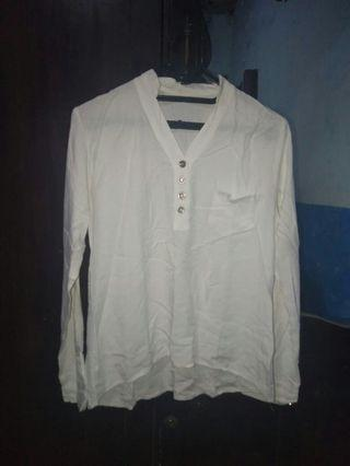 #mauvivo Kemeja putih