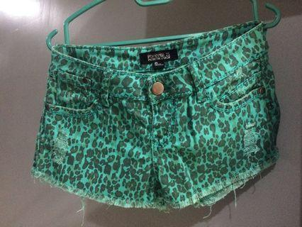 Forever 21 Animal Print Shorts  #Aeonshahalam