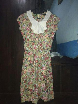 #mauvivo Flower Dress