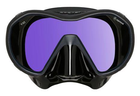 2019 NEW Apeks VX1 Frameless Amber/UV Cut Dive Mask