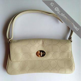 Kate Spade Handbag Beige Vintage