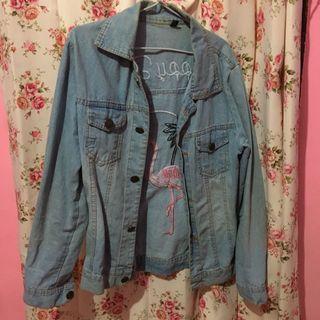 Jaket Jeans / Denim Flaminggo