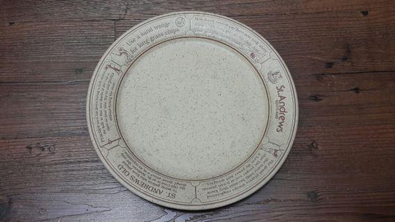 St.Andrew 蘇格蘭 聖安德魯大學 紀念盤