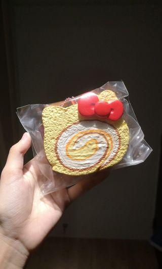 Hello Kitty Cakeroll Squishy