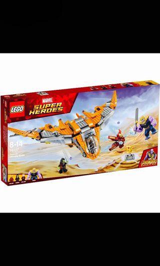 Lego Marvel Thanos Ultimate Battle (76107)