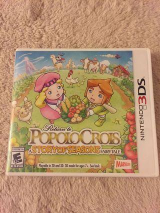Return to Popolocrois (A Story of Seasons Fairytale)